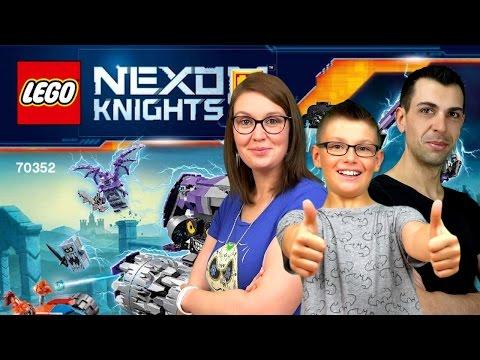 LEGO NEXO KNIGHTS - Tête d'assaut de Jestro construction - Family Geek