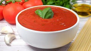 Sauce marinara en 5 min! Pour viande, pizza, pain grillé ou pâtes! Apportez du soleil à votre table!