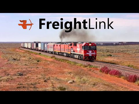 We Chase A FreightLink Train From Bookaloo To Coondambo