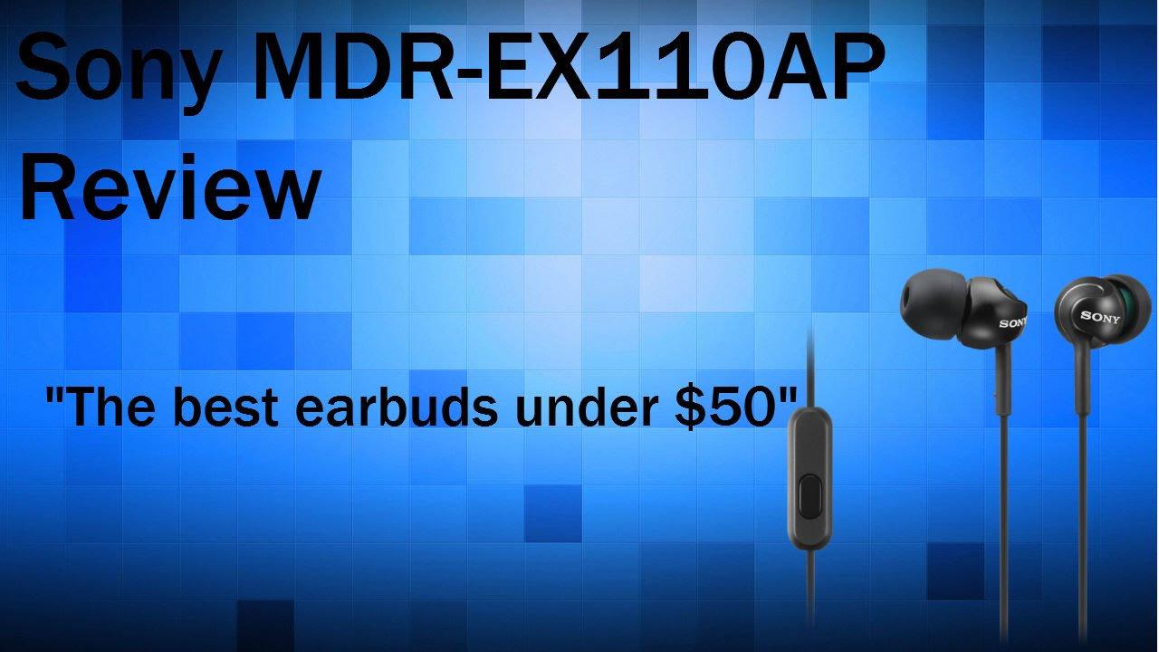 Audifonos SONY MDR-EX110AP