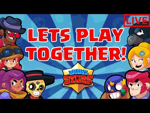 BRAWL STARS LIVE STREAM! - ROAD TO 600 SUBS! + PLAYING WITH VIEWERS!