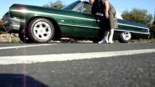 64 Chevrolet Impala on air bags