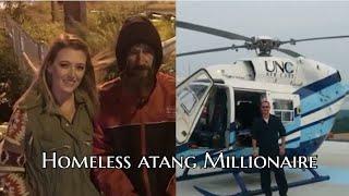 Homeless in a pawisa neihchhun dollar 20,mi tanpuinan a hman hnu in, Millionaire a ni..