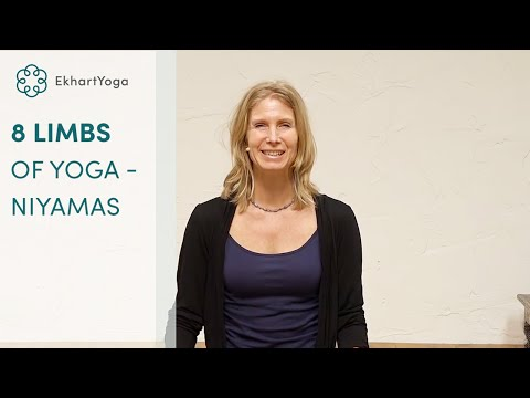 #2 Niyamas - Esther Ekhart explains the eight limbs of Yoga