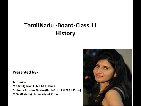 Tamilnadu Board Class 11 History Chapter Chapter 1