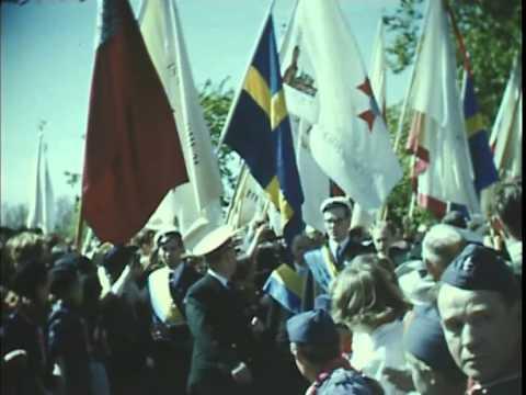 Godtemplarrörelsens 100års-jubileum på Skansen 1951 (Stumfilm)