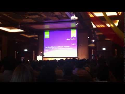 Shashi Tharoor Dubai Literary Festival