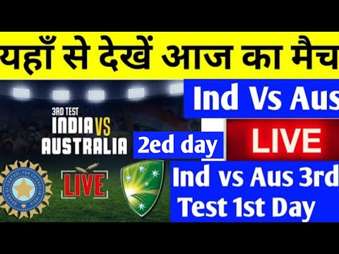 Ind vs Australia 3rd test cricket match live score at Melbourne