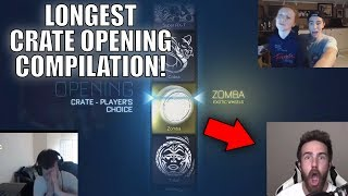 BEST CRATE OPENINGS IN ROCKET LEAGUE! (COMPILATION)