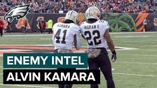 Alvin Kamara: New Orleans' Dangerous Backup RB | Eagles Enemy Intel