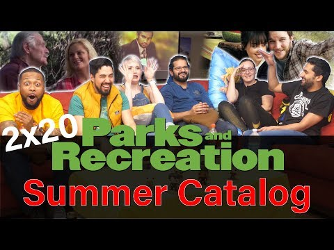 Parks And Recreation - 2x20 Summer Catalog - Group Reaction