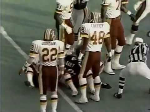 Washington Redskins Vs Chicago Bears 1986