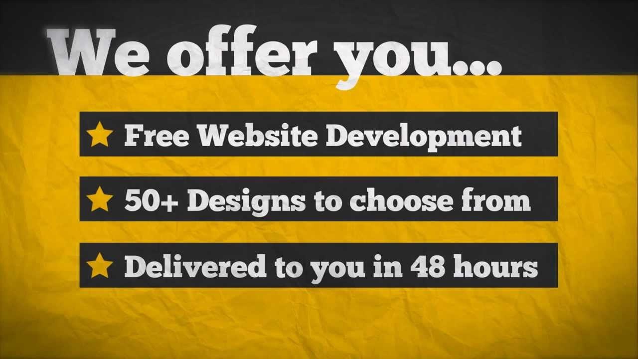 how to build a website like youtube for free