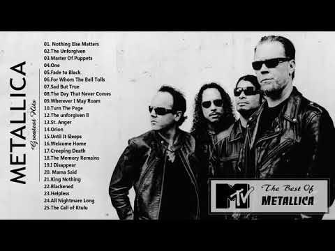 Metallica Greatest Hits   2018   Best Of Metallica