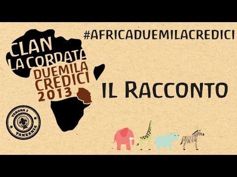 Africa #duemilacredici: Il racconto