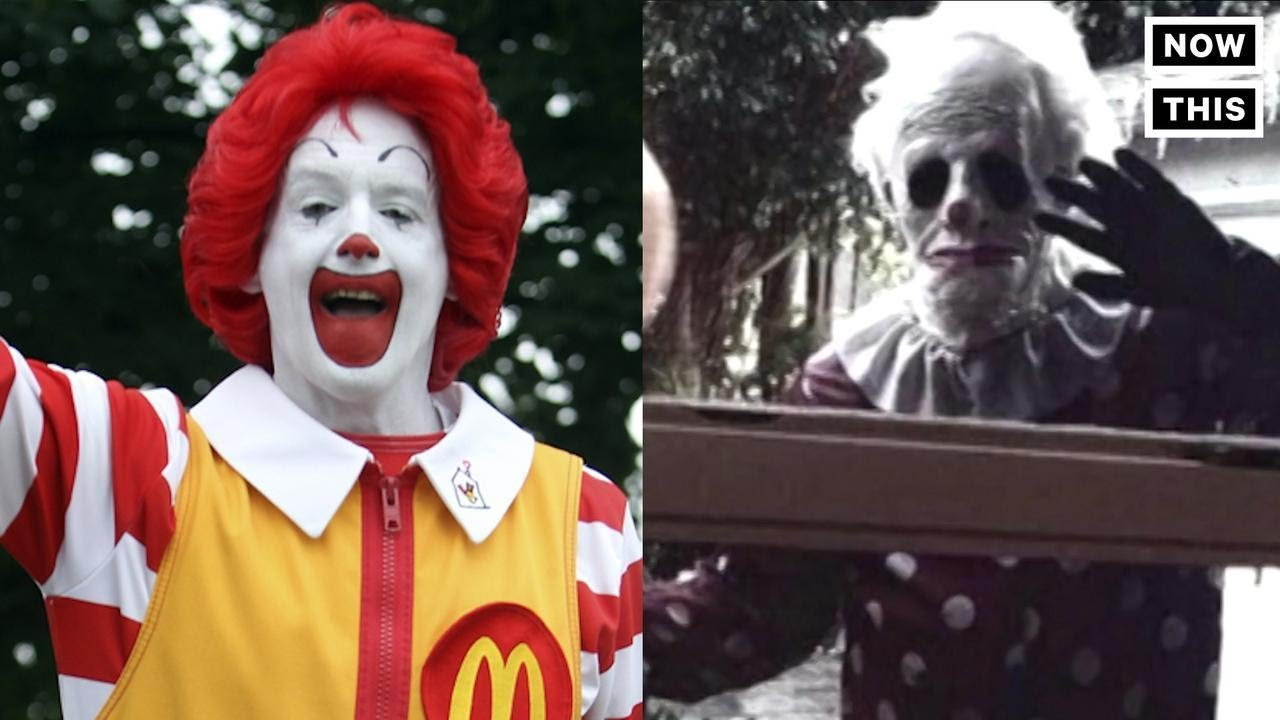 ronald mcdonald is hiding because of these terrible creepy clowns