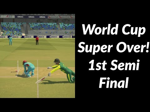 World Cup Super Over | 1st Semi Final | South Africa vs. Afghanistan | Ashes Cricket 2017