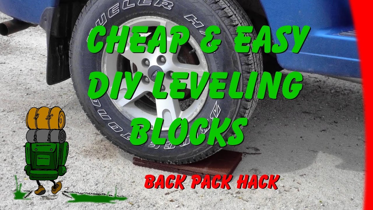 Cheap and Easy DIY Leveling Blocks