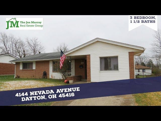 Spacious Brick Ranch in Dayton!  4144 Nevada Avenue Dayton OH 45416