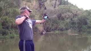 Carpa com arco e flecha - Nova Temporada 2012/2013