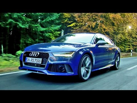 ► 2016 Audi RS7 Performance (605 hp) Design and Driving