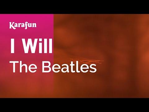 Karaoke I Will - The Beatles *