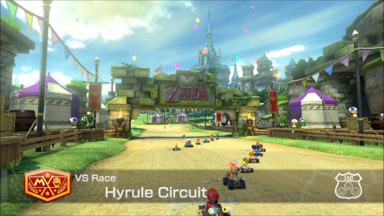 mario kart 8 hyrule circuit theme ultra quality youtube. Black Bedroom Furniture Sets. Home Design Ideas