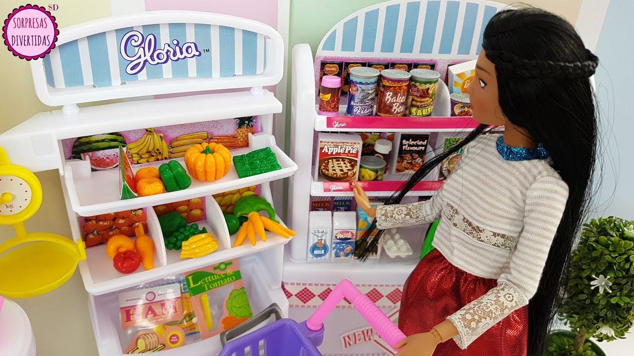 Pocahontas en el supermercado y cocina de barbie juguetes for El shopping del mueble catalogo