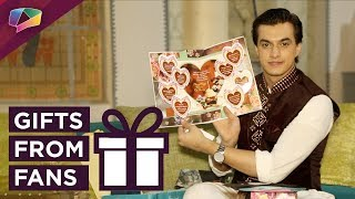 Mohsin Khan Receives Birthday Gifts From His Fans | Exclusive