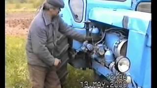 Беларусь - трактор. Ручной стартер