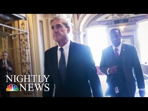 Donald Trump Takes Aim At Robert Mueller And Russia Investigation On Twitter | NBC Nightly News