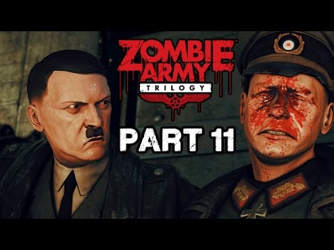 Let's Play Zombie Army Trilogy Deutsch #11 - Hitlers Schloss