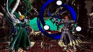 Omega Rugal Boss VS Clone Zero