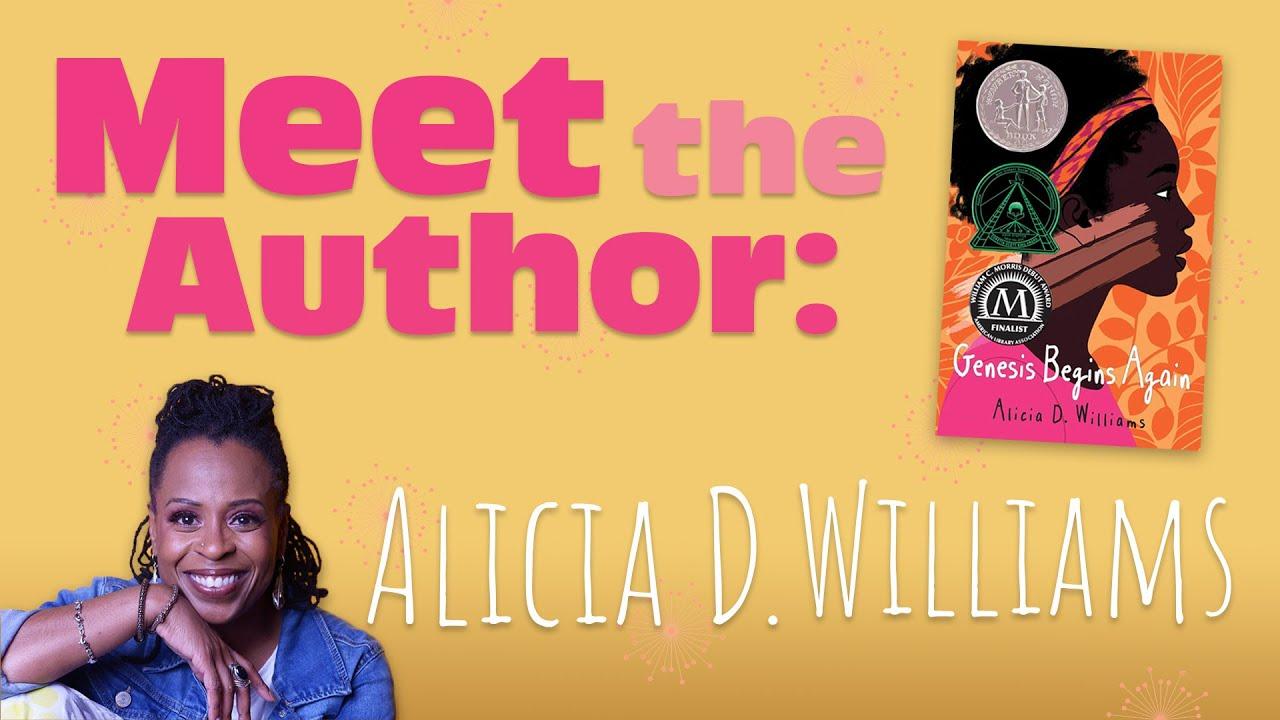 Meet the Author: Alicia D. Williams - YouTube