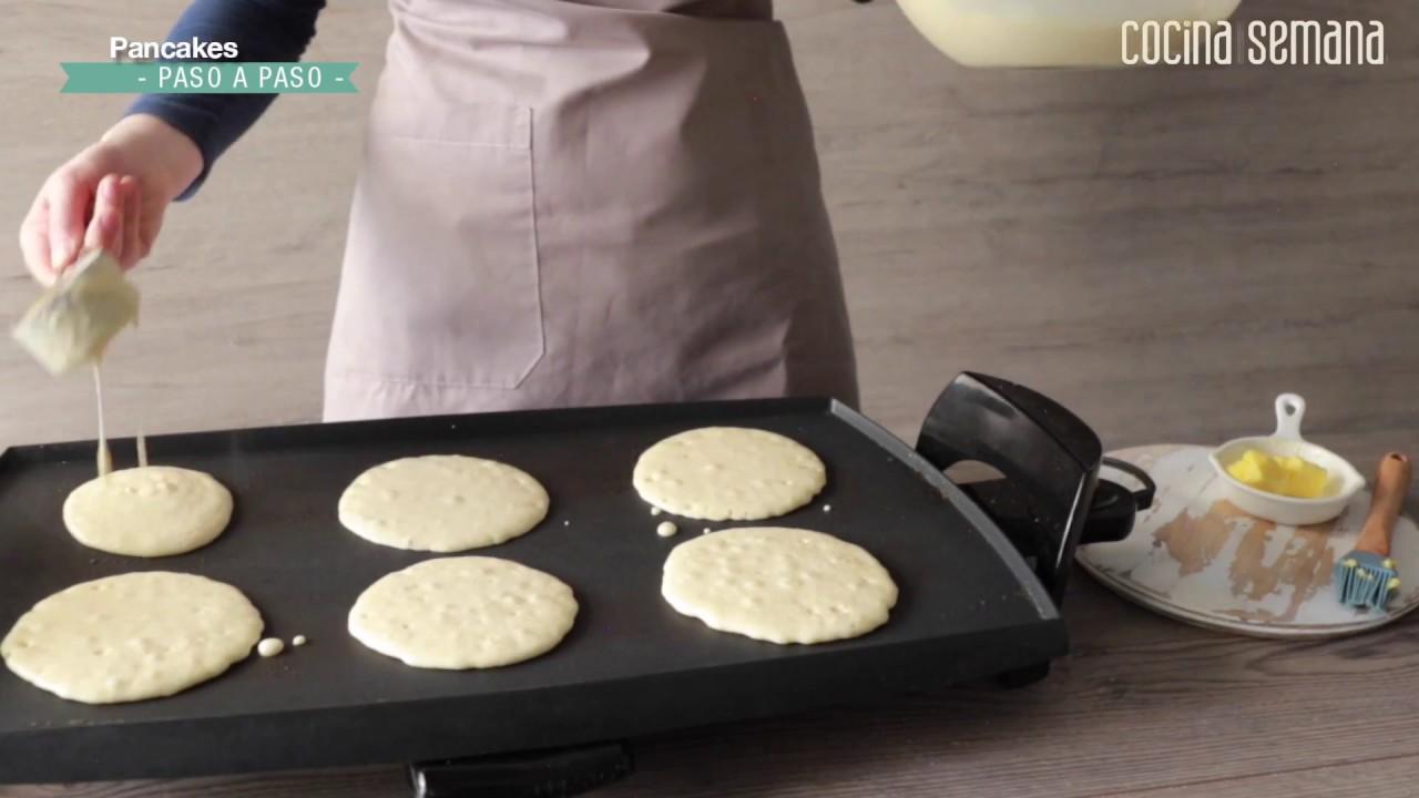 Masa para hacer pancakes