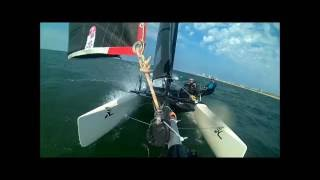 Nose dive with the Hobie Tiger