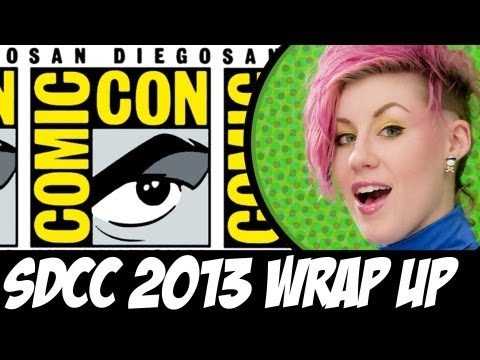 Ep45: Comic Book Girl 19 goes to Comic-Con 2013! - CBG19 News!