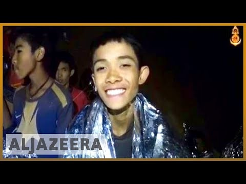 🇹🇭 Thailand: New video shows trapped football team in 'good health' | Al Jazeera English