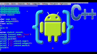 how to programming c++ Android application