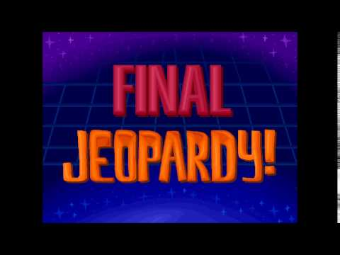 Jeopardy! Think Music fanmade version
