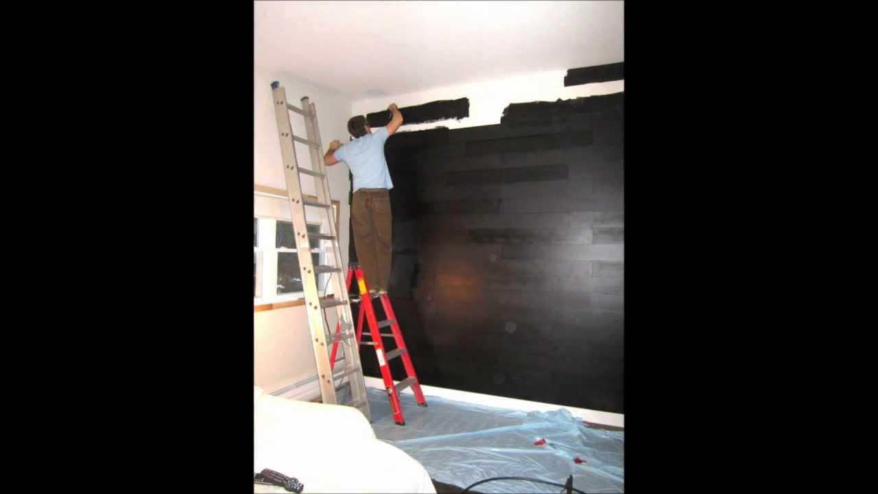 mur design home made youtube. Black Bedroom Furniture Sets. Home Design Ideas