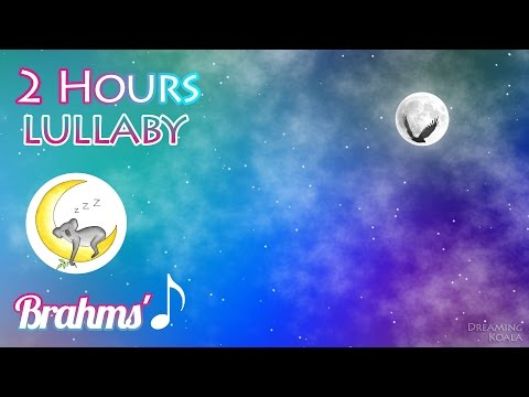 Brahms' Lullaby - 2 HOURS - Classical Lullaby Music With Relaxing Sounds - Cradle Song