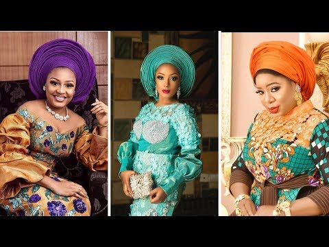 2019/2020 African Lace Styles For Wedding : New Fashion Aso Ebi Gowns Designs For Women