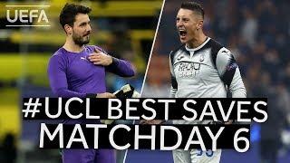 BÜRKI, GOLLINI: #UCL BEST SAVES, Matchday 6