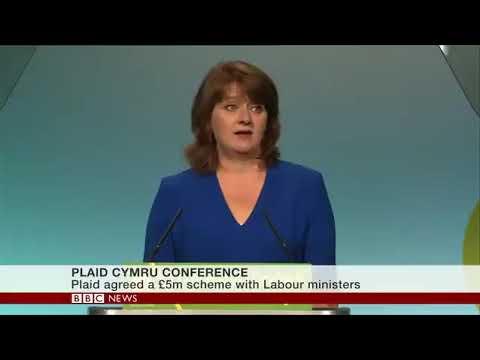 Catalonia República vs Spain  (Plaid Cymru Conference BBC news)