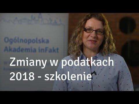 Zmiany w podatkach 2018 - szkolenie Ogólnopolska Akademia inFakt