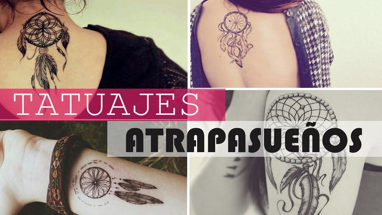 Tatuajes Atrapasueños Para Mujer Dream Catcher Tattoos Youtube