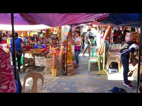 Buying fireworks in San Fernando