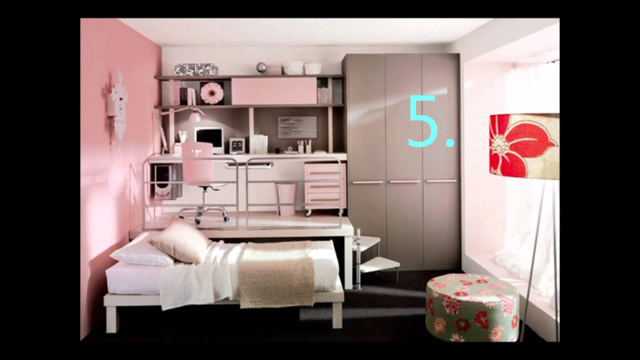 Cool Bedroomsfor Girls YouTube - Cool girl bedroom designs