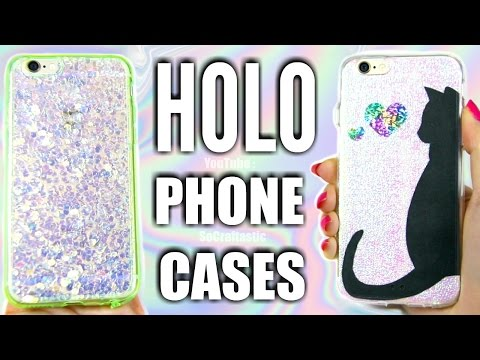 DIY HOLOSEXUAL Unicorn Phone Cases